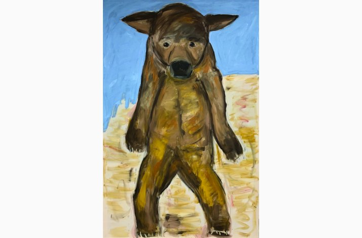 Big Ear Grizzly 219x146 cm