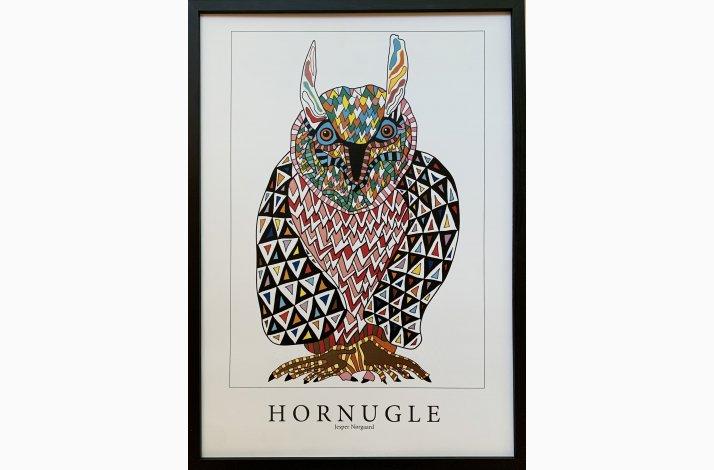 Hornugle 43,5x31,5 cm
