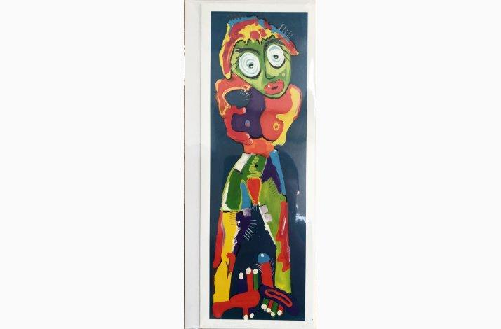 Abigail  (Kunstkort 21x7,5 cm)