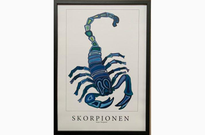 Skorpionen 43,5x31,5 cm